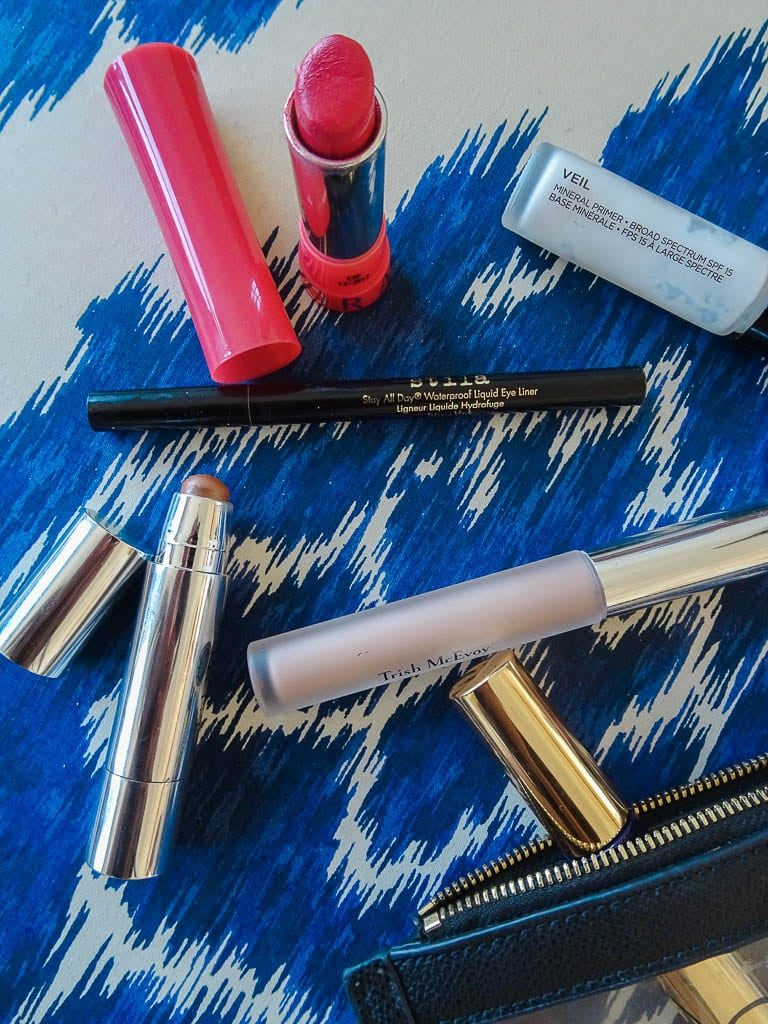 Tried and true makeup bag favorites - adored by alex