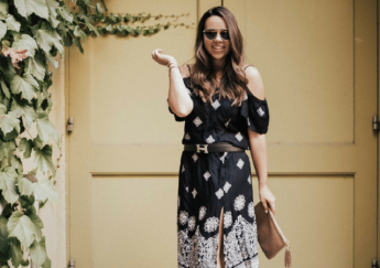 boho midi dress - adored by alex