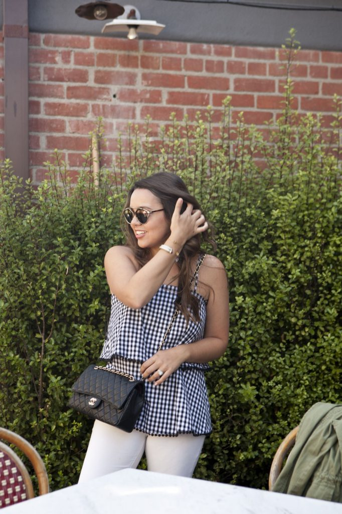 must-have gingham top, trendy gingham outfits