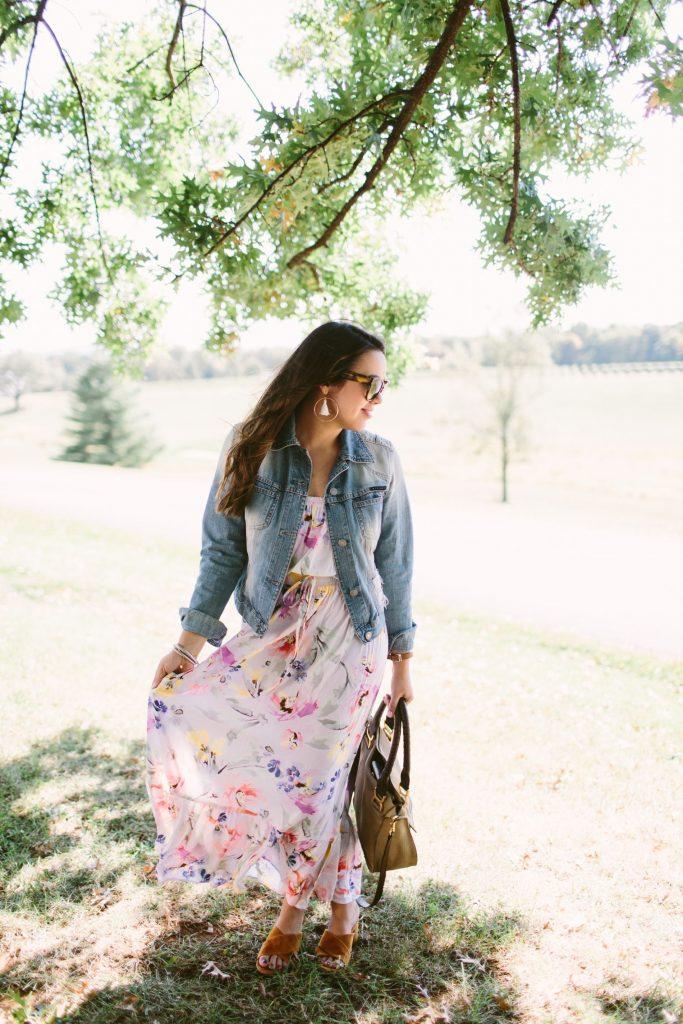 under $100 dress idea, transitional dress