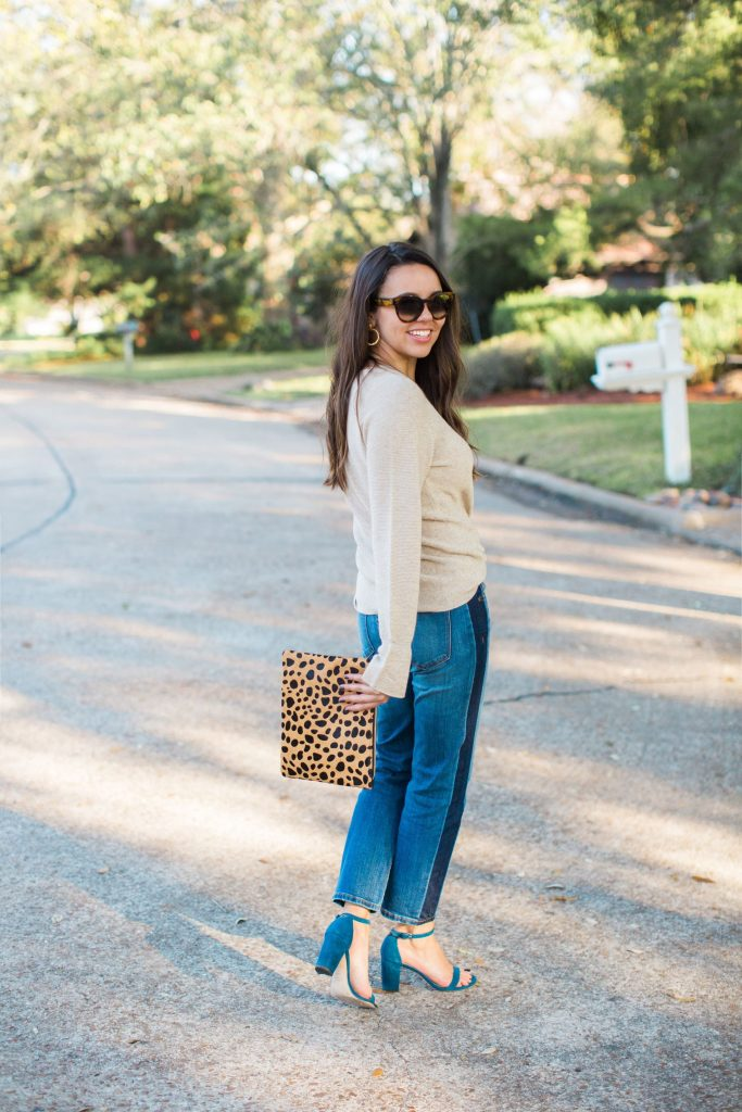 Striped denim, girlfriend jeans, denim trends