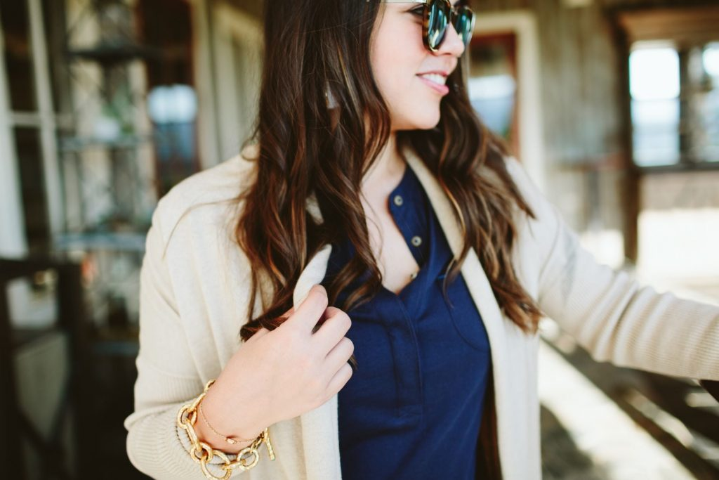 fall outfit ideas, Julie Vos link bracelet
