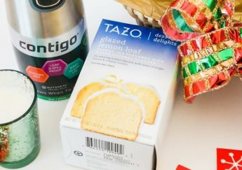 Holiday Gift Basket with Contigo + Tazo at Target