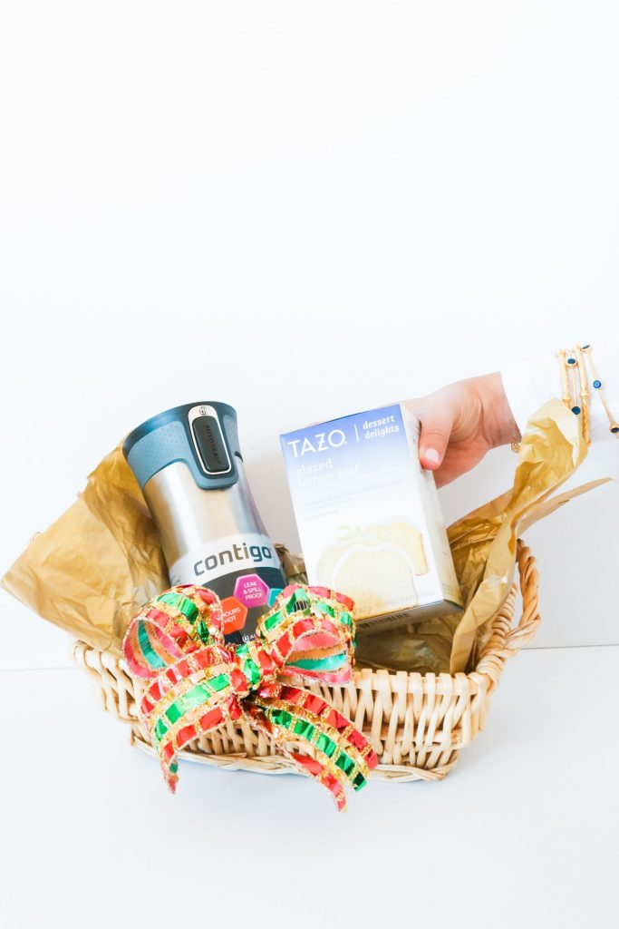 Holiday Gift Basket With Contigo Tazo At Target Adored By Alex