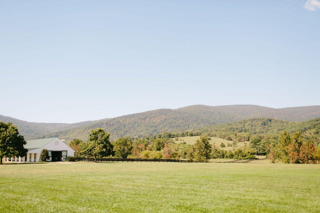 King Family Vineyards, Blue Ridge mountains Virginia, Charlottesville