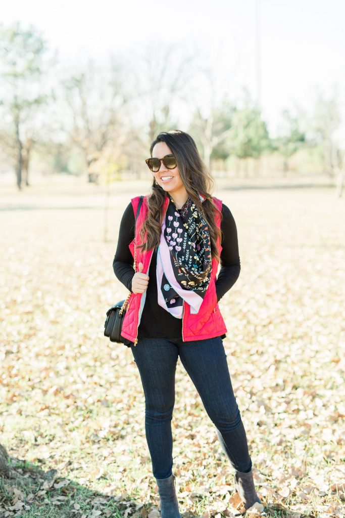 printed Valentino scarf, how to wear silk scarves