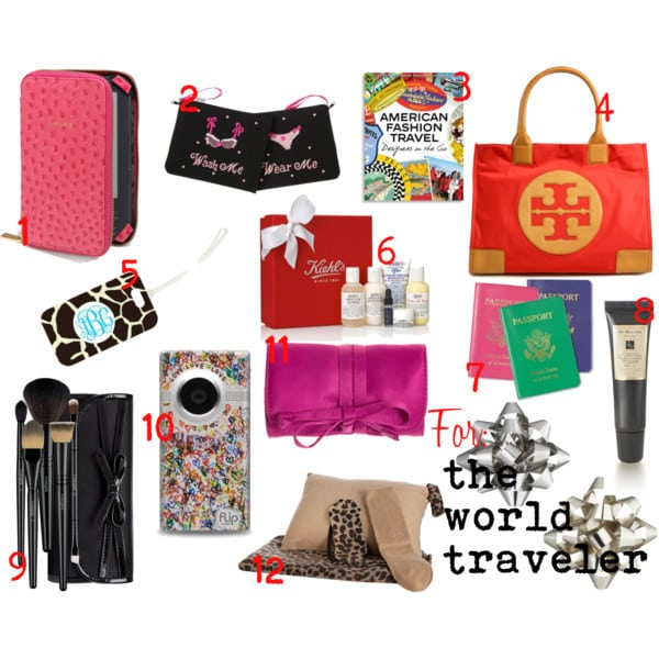 Guide to gift giving: the world traveler