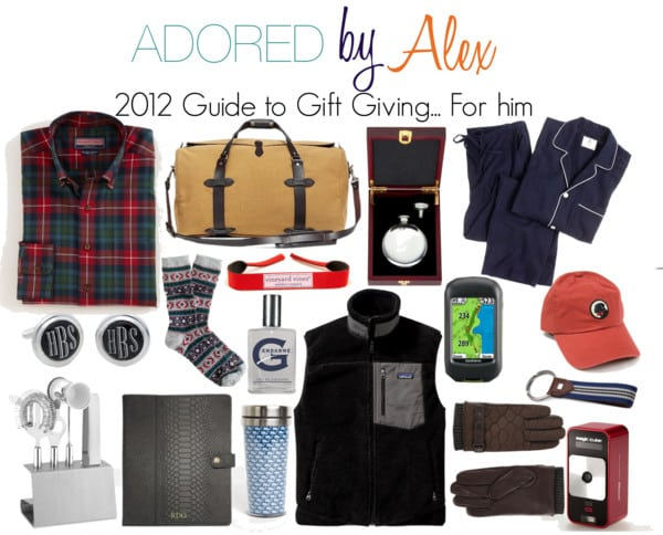 2012 Guide to Gift Giving: For him