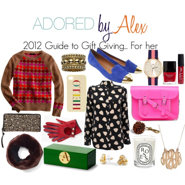 2012 Guide to Gift Giving: For her