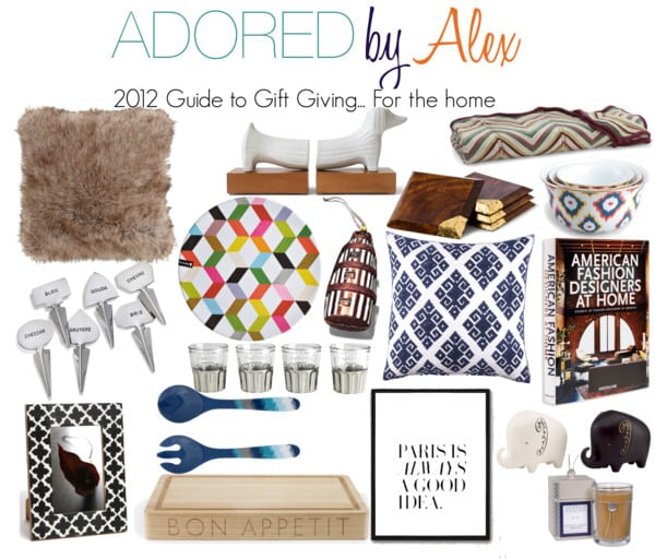 Guide to Gift Giving: For the home