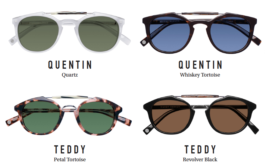 Let's Shop: Warby Parker // Corner Collection
