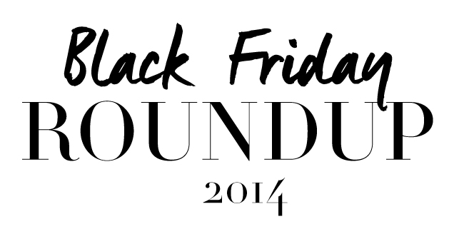 Black Friday Roundup 2014