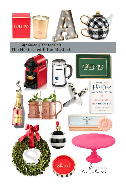 Guide to Gift Giving: For the Hostess