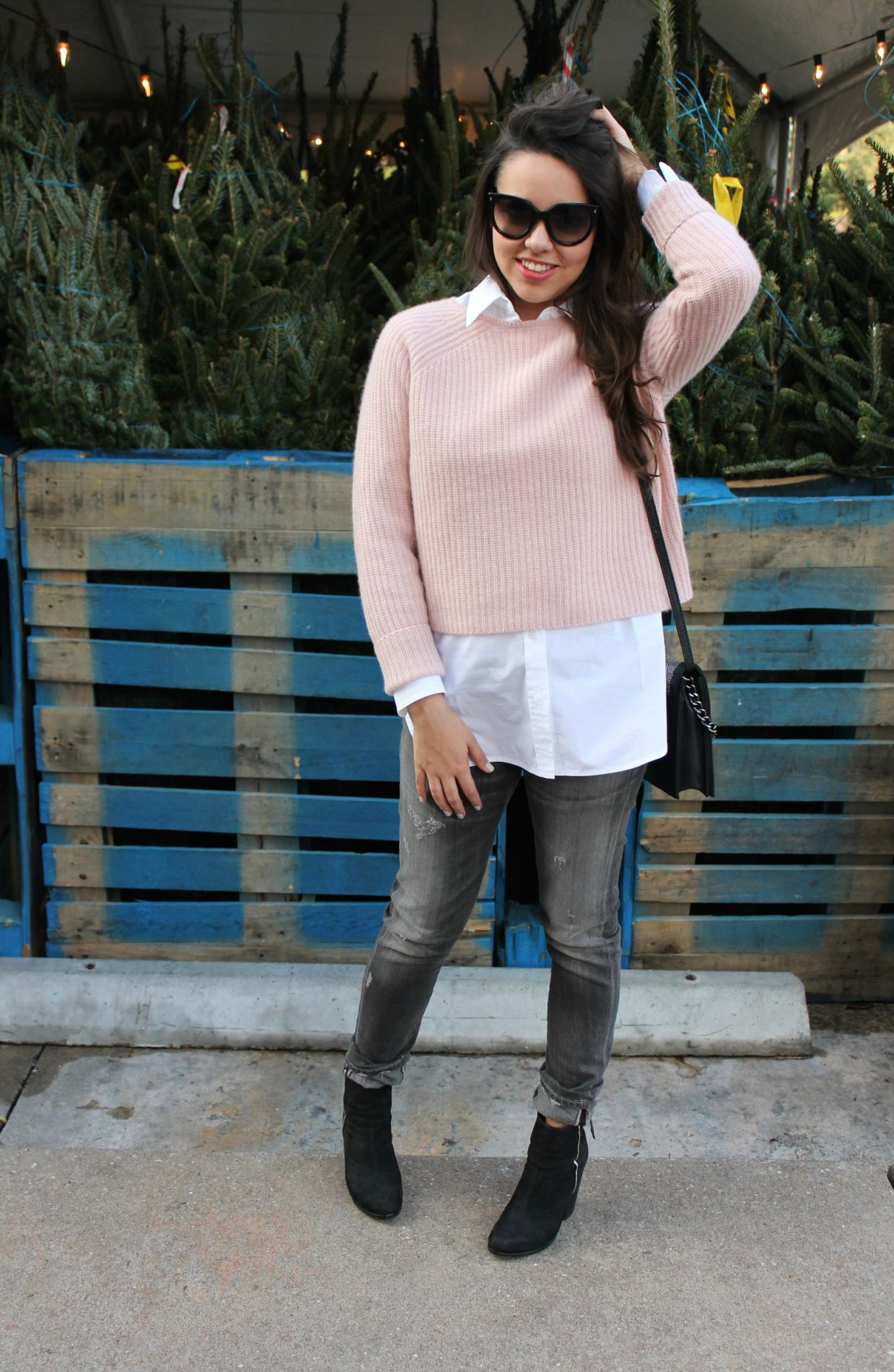 Blush Pink Cashmere