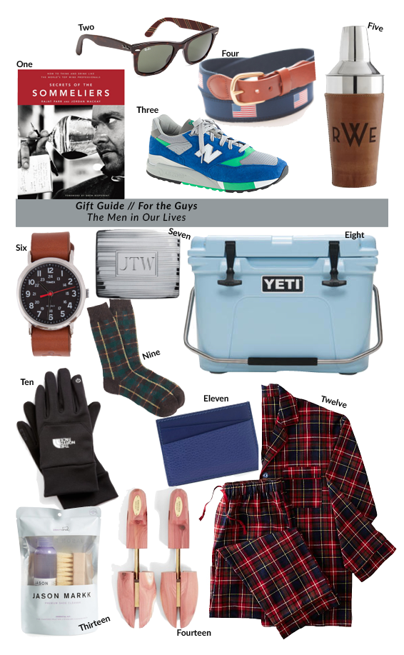 Guide to Gift Giving: For the Guys
