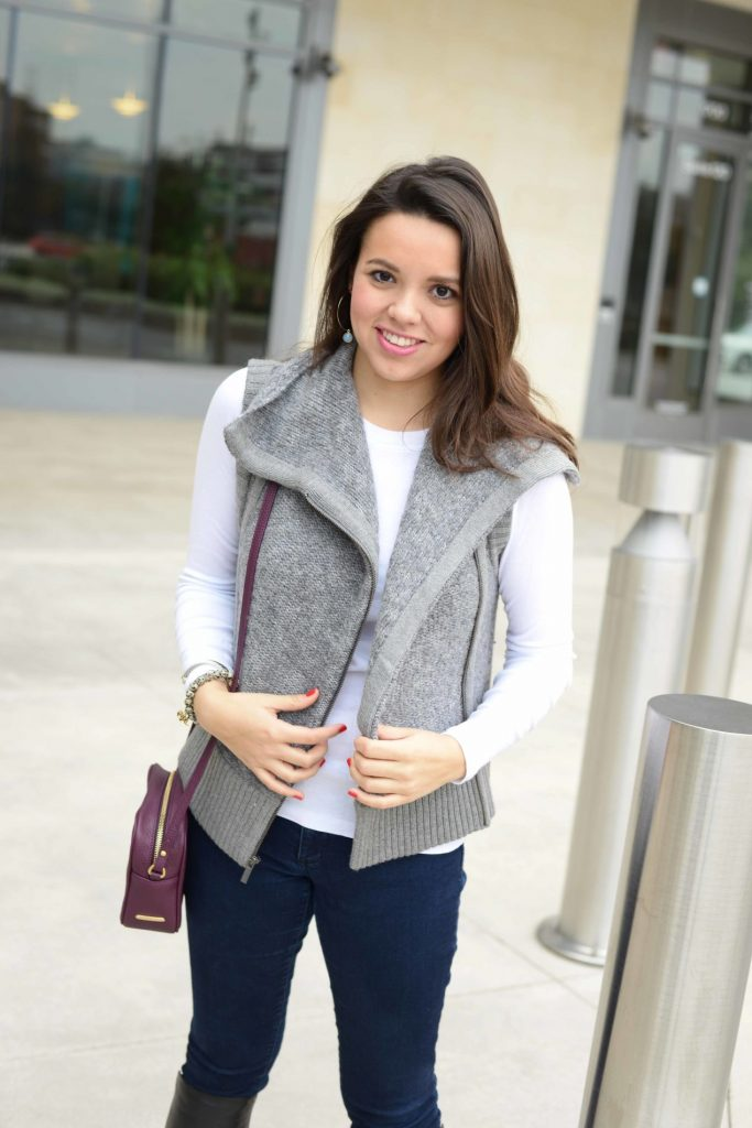 Boucle Sweater Vest - Adored by Alex
