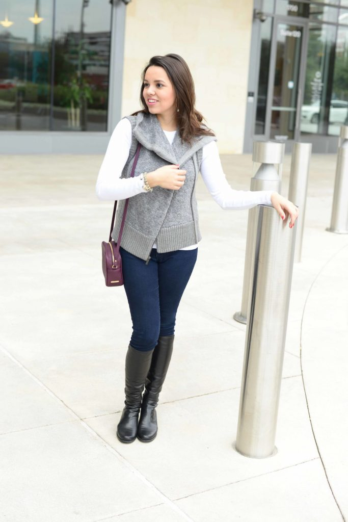 Grey Sweater Vest - Adored by Alex