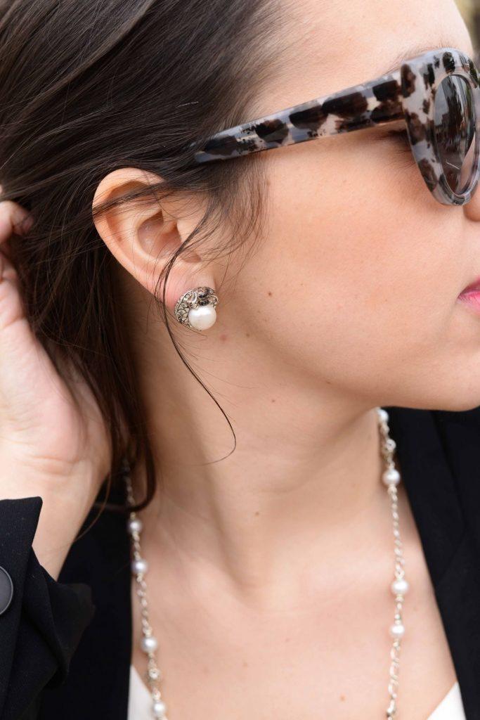 John Hardy pearl earrings