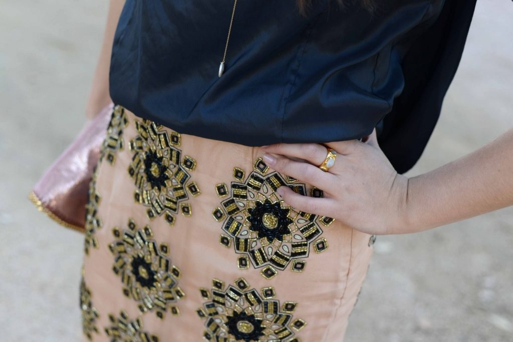 Kora Rae Crown Jewel skirt