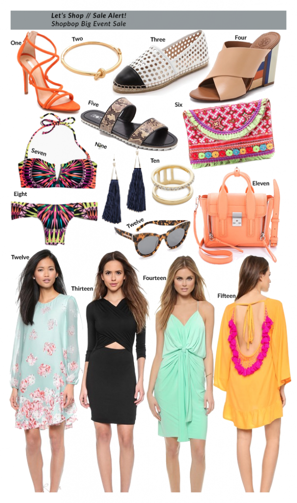 Let's Shop - Shopbop Big Event Sale March 2015