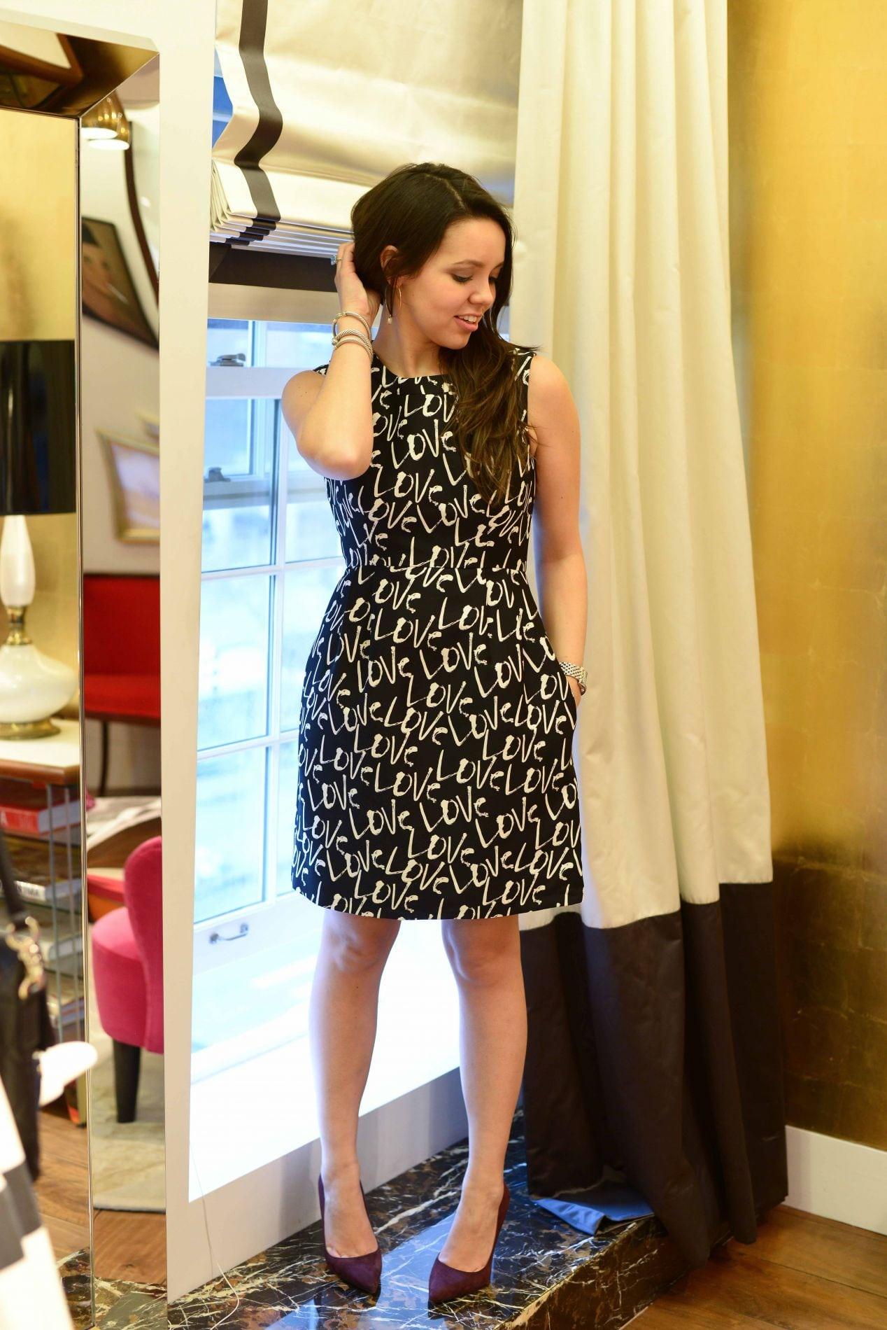 Kate Spade Love Mindy Dress