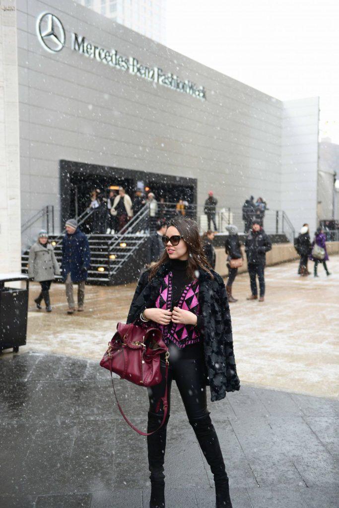 Snow at MBFW