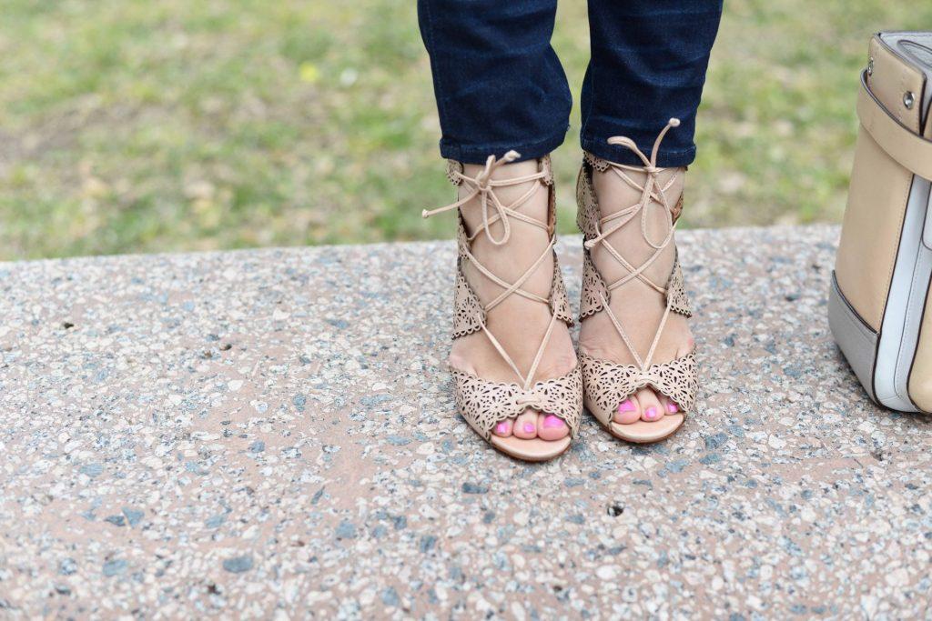 Schutz perforated heels