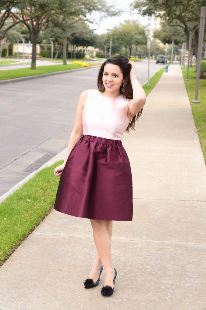 Kate Spade color block dress