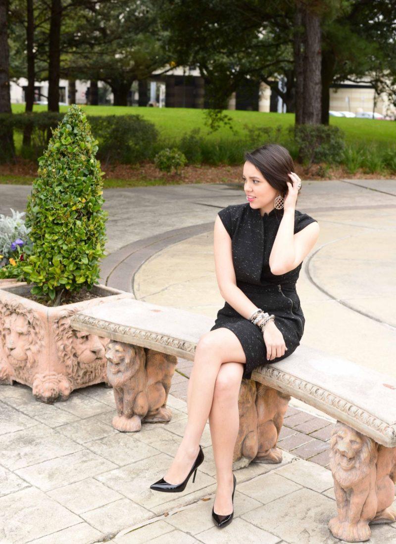 Modern Little Black Dress
