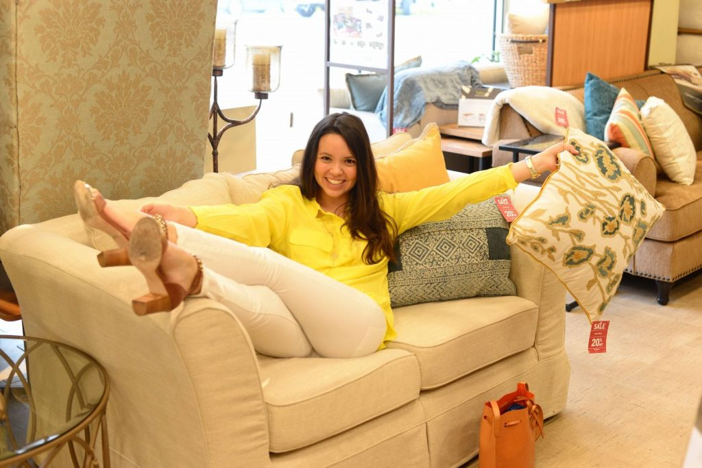 Kick up your heels at Pier 1 Imports