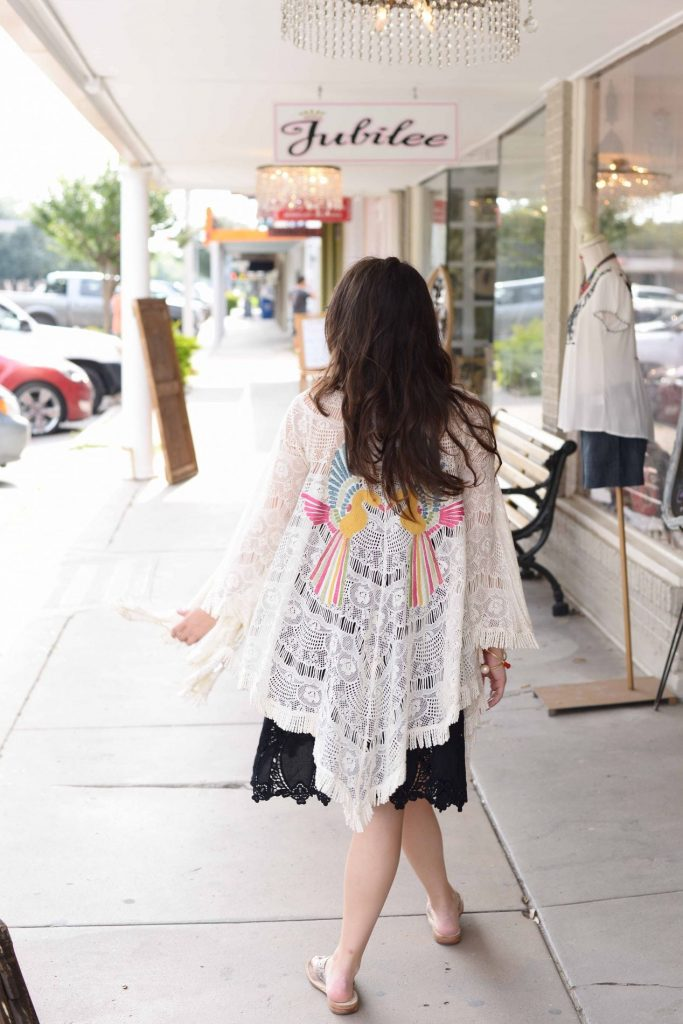 Kimono layering