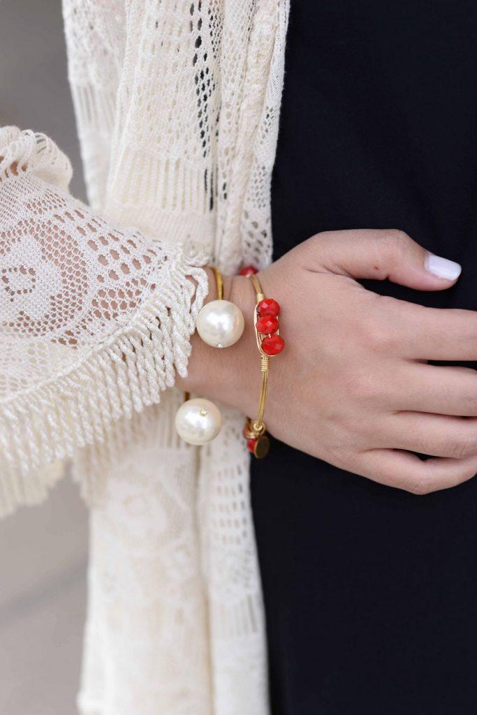 Bourbon and Boweties bracelets