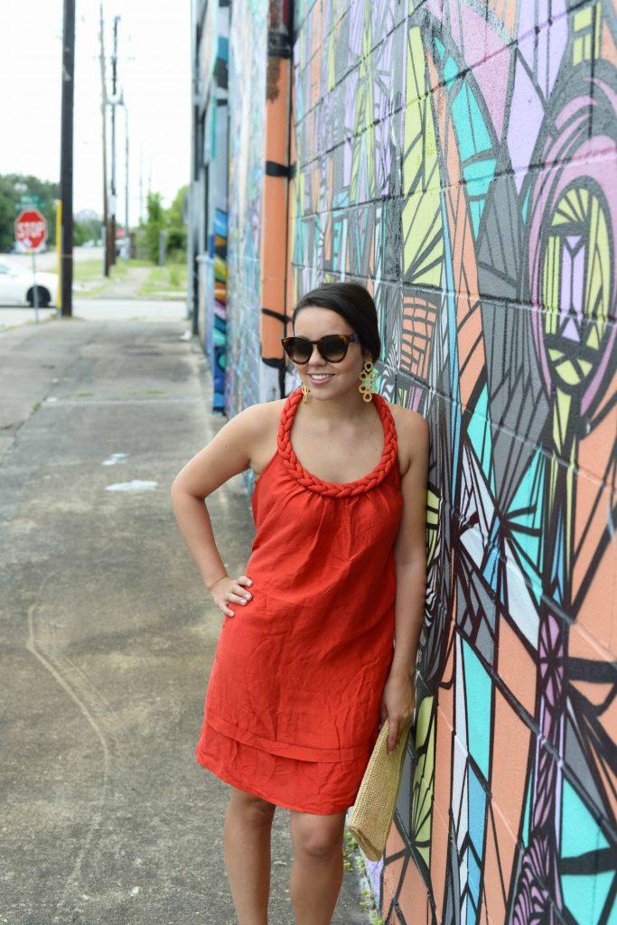 Calypso St. Barth red dress