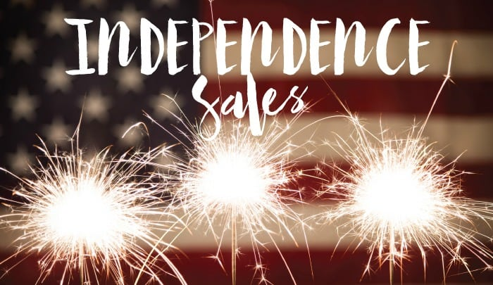 Sale Round Up - Fourth of July 2015