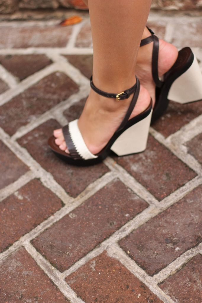 Tory Burch colorblock wedges
