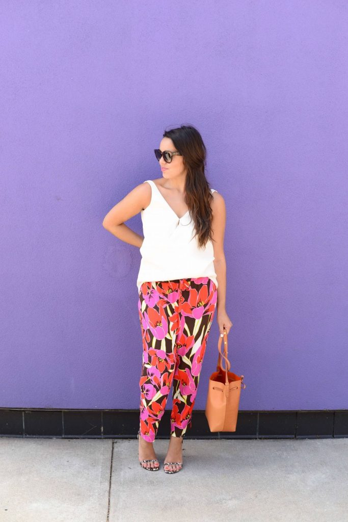 Bold colors, bright patterns