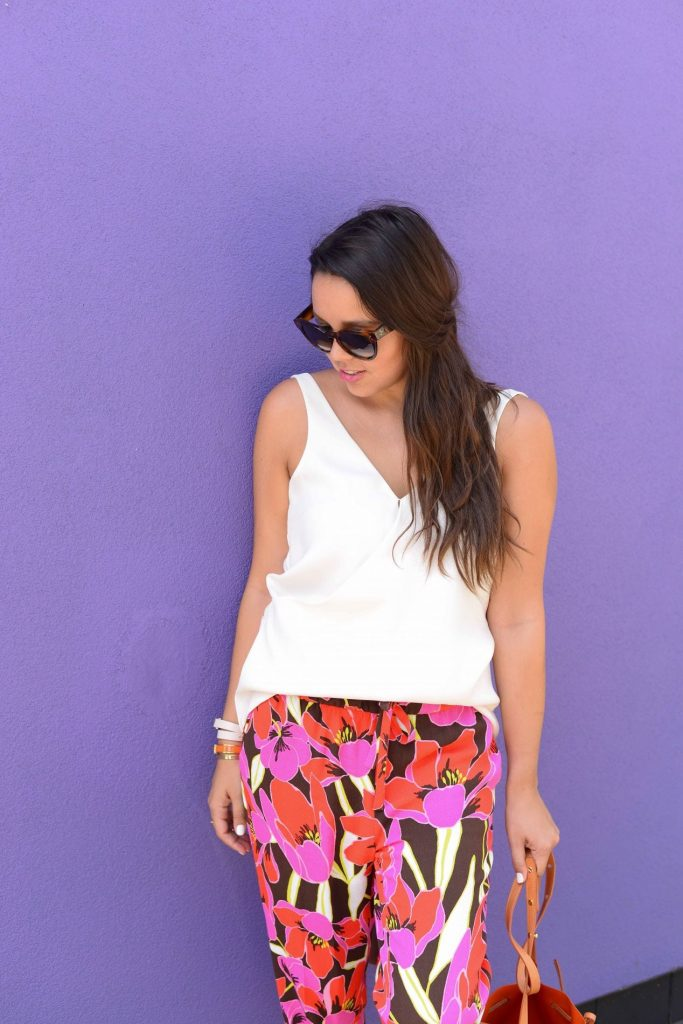 Floral Pants - Adored by Alex
