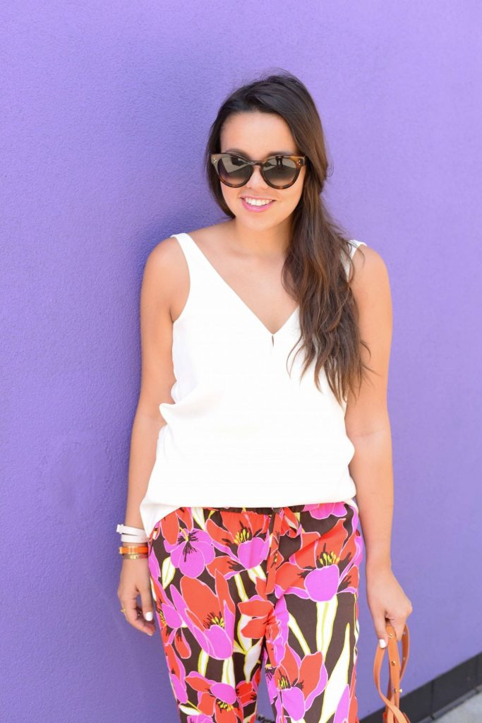 How to wear florals in the summer