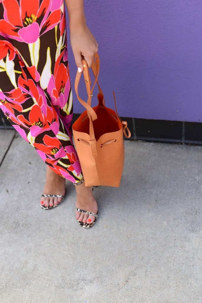 Florals and Leopard pattern mix
