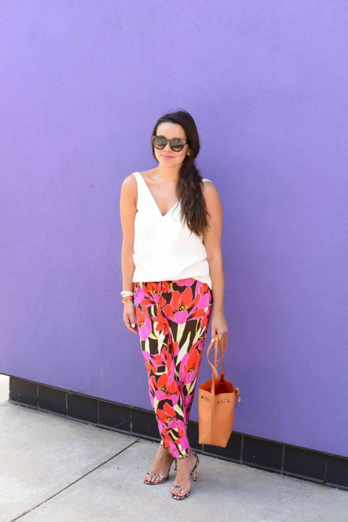 How to dress lounge pants in the summer