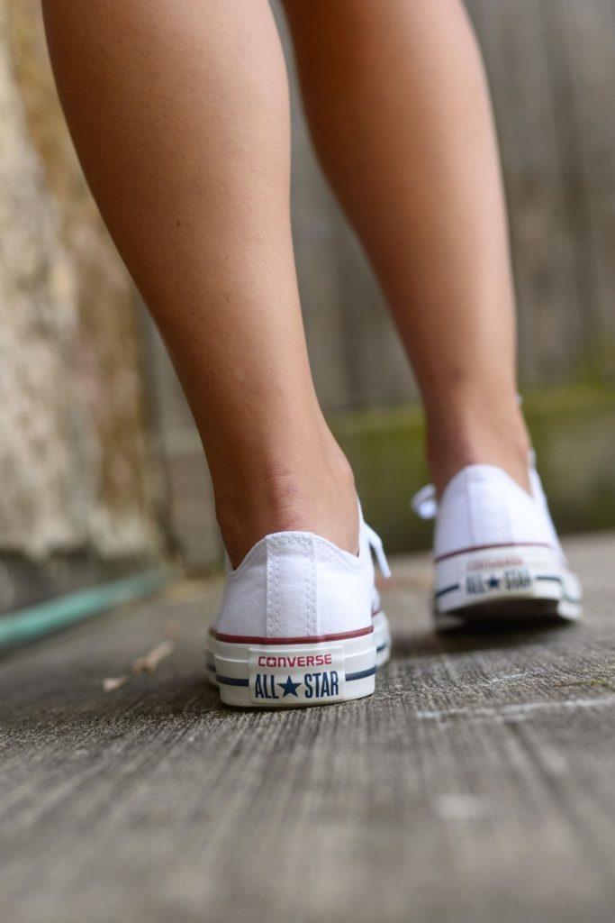 Americana White Converse