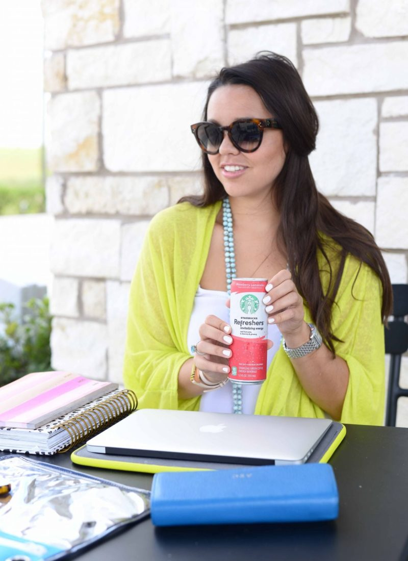 A day with Starbucks Refreshers
