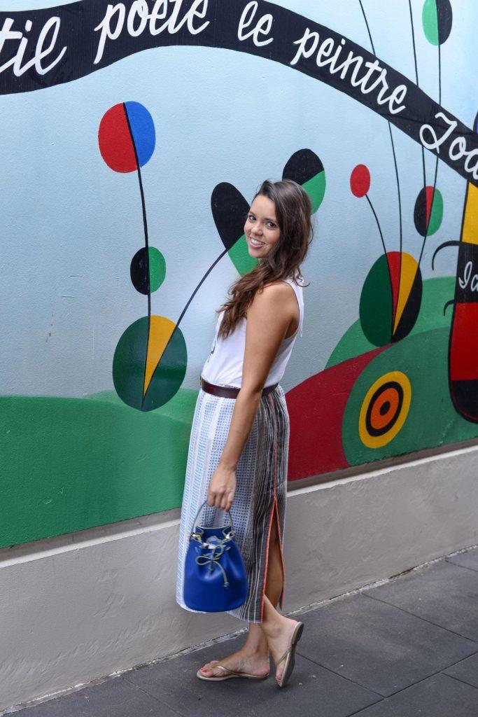 Striped midi skirt - Lemlem