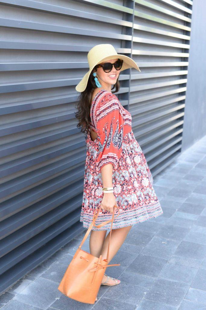 Floppy Hats & Flowy Dresses