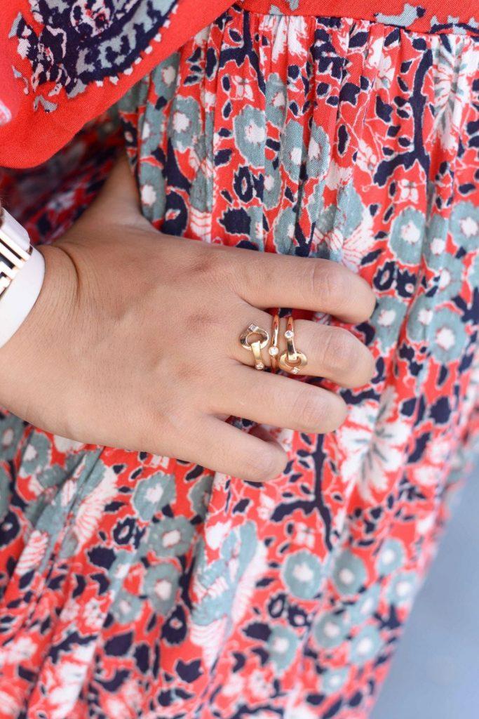 Gumuchian gold & diamond ring