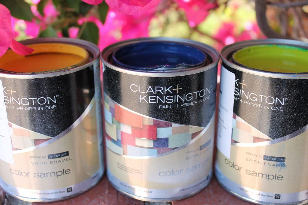 Clark+Kensington paint samples