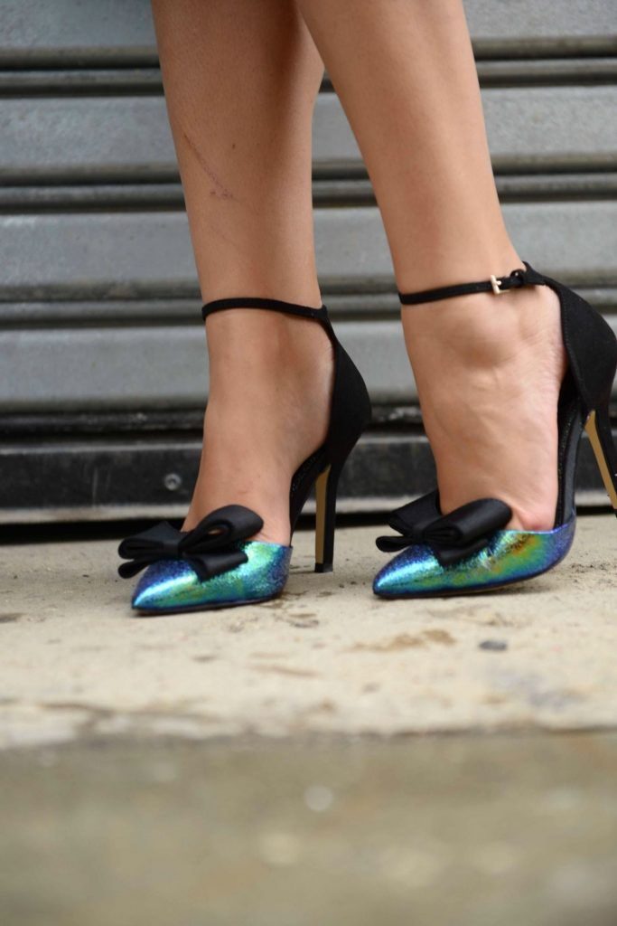 Bows on toes heels - NYFW