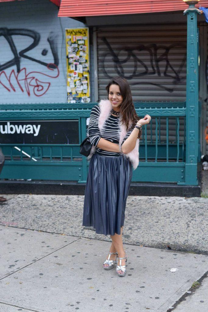 NYFW Street Style - Adored by Alex Alexandra Carreno