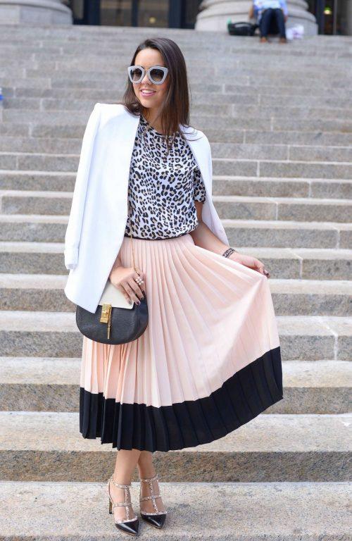 Kate Spade pleated skirt