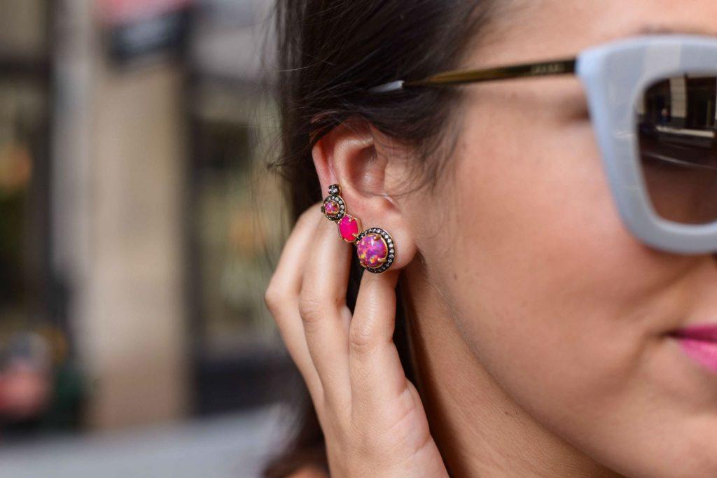Kendra Scott ear climber earrings